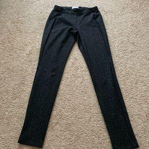 Calvin Klein Black And Gray Leggings Size:XS.